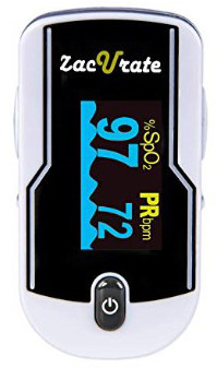 Zacurate 430-DL Premium Fingertip Pulse Oximeter Oximetry Blood Oxygen Saturation Monitor