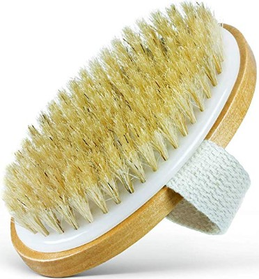 Dry Skin Body Brush - 100% Natural Bristles