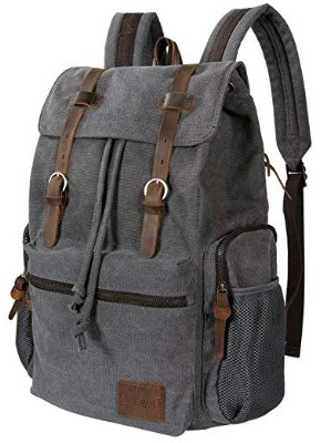 Lifewit 15.6-17 inch Canvas Laptop Backpack