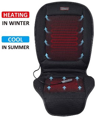 SNAILAX Seat Cushion with 3 Levels Cooling and 2 Levels Heating SL26A8 Cool and Heating Pad