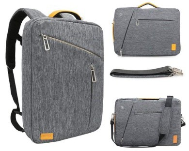 17.3 Inch Convertible Laptop Backpack