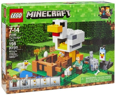 LEGO Minecraft The Chicken Coop 21140 Building Kit