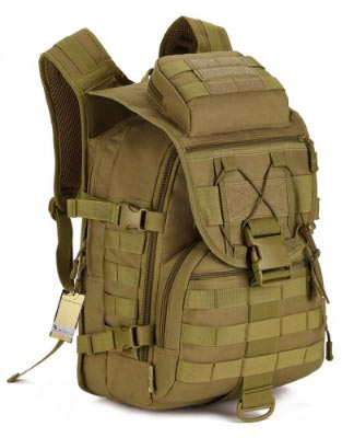 40L Tactical Backpack:Assault Pack:Waterproof Military Backpack:Bug Out Bag