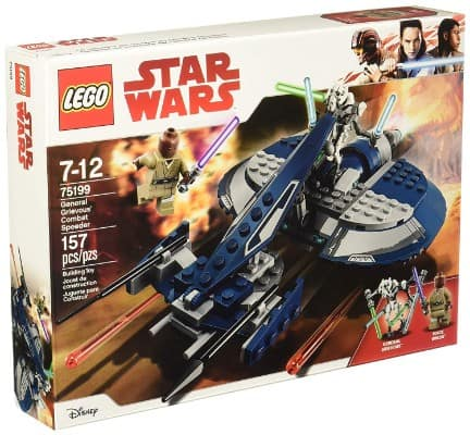 LEGO Star Wars- The Clone Wars General Grievous' Combat Speeder 75199 Building Kit