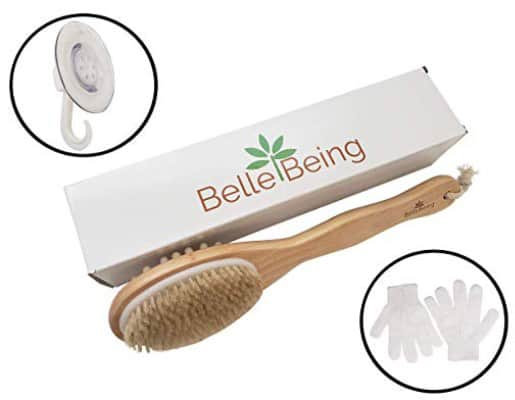 Dry Brush for Cellulite and Lymphatic Drainage