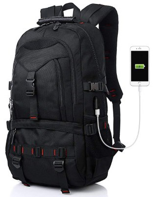 Fashion Laptop Backpack Contains Multi-Function Pockets, Tocode Durable Travel Backpack