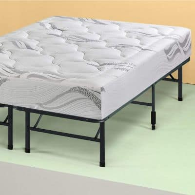 Sleep Master Platform Metal Bed Frame:Foundation Set