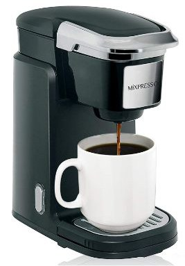 Mixpresso - Single Serve Coffee Maker | Compatible with K-Cups | Quick Brew