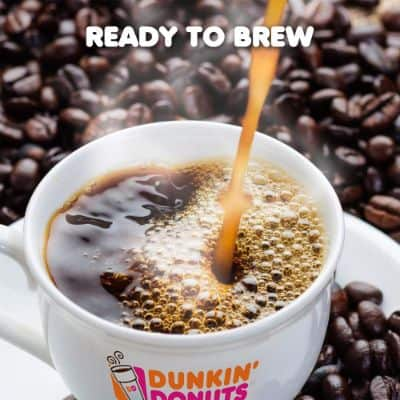 Dunkin' Donuts Original Blend Coffee for K Cup Pods, Medium Roast, for Keurig Brewers