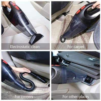 Car Vacuum Cleaner – Maxesla 5500PA Strong Suction Portable Vacuum Cleaner