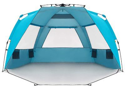 Easthills Outdoors Instant Shader Enhanced Deluxe XL Easy Up 4 Person Beach Tent