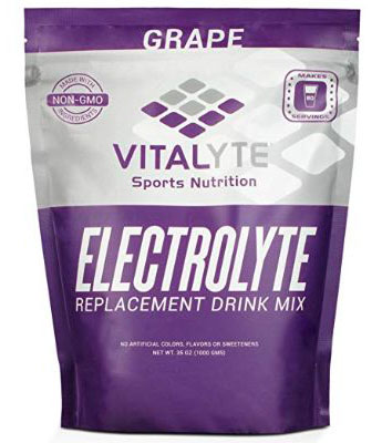 Vitalyte Electrolyte Powder Sports Drink Mix, 80 Servings Per Container