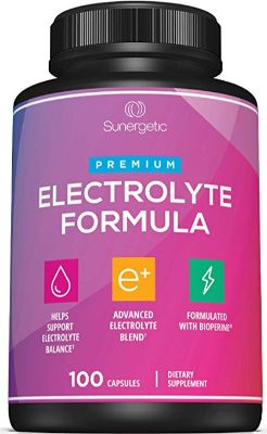 Premium Electrolyte Capsules – Support for Keto, Low Carb, Rehydration