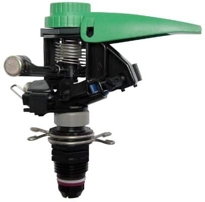 Rain Bird P5R Plastic Impact Sprinkler, Adjustable 0° - 360° Pattern, 25' - 41' Spray Distance