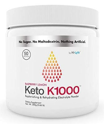 Keto K1000 Electrolyte Powder | Boost Energy & Beat Leg Cramps