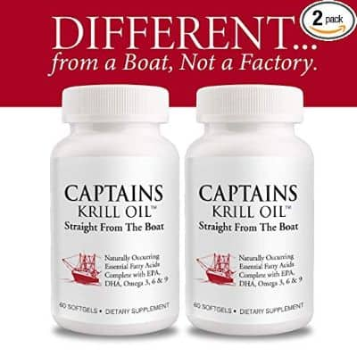 Captains Krill Oil- 100% Pure Flash Frigid Pressed Southern Antarctic Krill Oil (2)