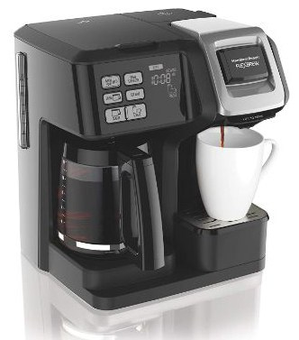 Hamilton Beach (49976) FlexBrew Coffee Maker, Single Serve & Full Coffee Pot
