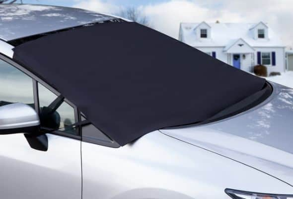 OxGord Windshield Snow Cover Ice Removal Wiper Visor Protector All Weather