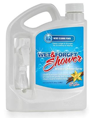 Wet and Forget 00020 64 Oz Weekly Shower Spray with Sprayer