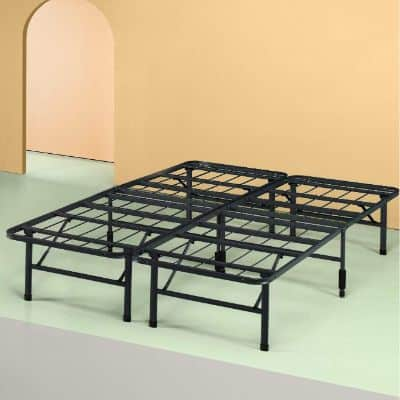 Sleep Master Platform Metal Bed Frame:Foundation