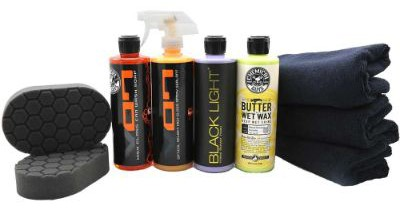 Chemical Guys HOL203 Black Car Care Kit (9 Items)