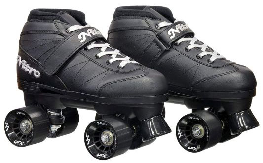 Epic Skates Super Nitro Indoor:Outdoor Quad Speed Roller Skates