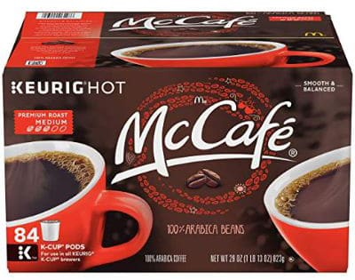 McCafé Premium Roast Coffee K-Cup Pods 84 Count