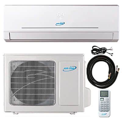 24000 Btu 20.5 SEER Ductless Mini Split DC Inverter Air Conditioner Heat Pump System