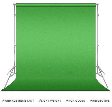 LimoStudio Photography Studio Video Photo ChromaKey Green Screen Background Support Kit