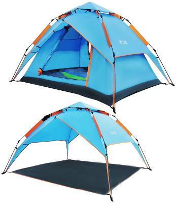 REDCAMP 2-3 Person Instant Tent