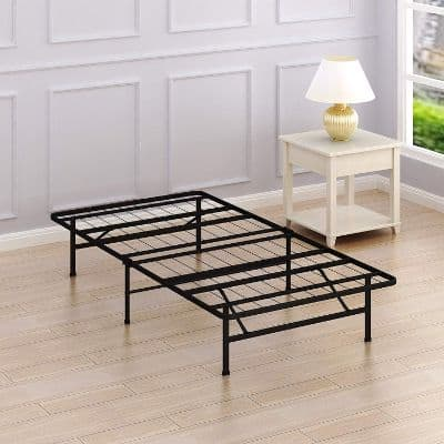 Simple Houseware 14-Inch Twin Size Mattress Foundation Platform Bed Frame