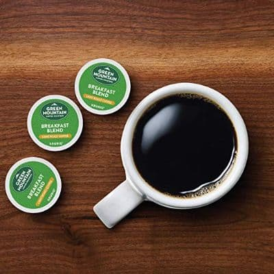 Green Mountain Coffee, Breakfast Blend, Single-Serve Keurig K-Cup Pods, Light Roast