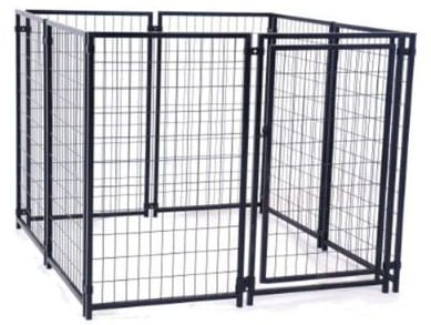 ALEKO DK5X5X4SQ Pet System DIY Box Kennel Dog Kennel