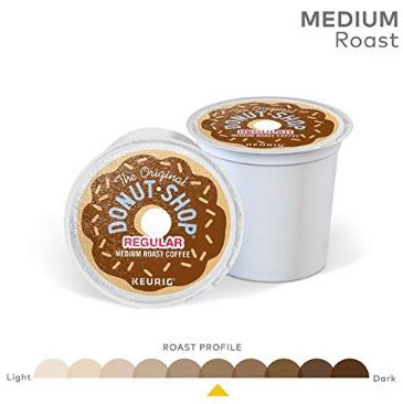 The Original Donut Shop Keurig Single-Serve K-Cup Pods, Regular Medium Roast Coffee