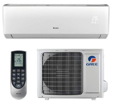 Gree LIVS12HP230V1B - 12,000 BTU 16 SEER LIVO+ Wall Mount Ductless Mini Split Air Conditioner