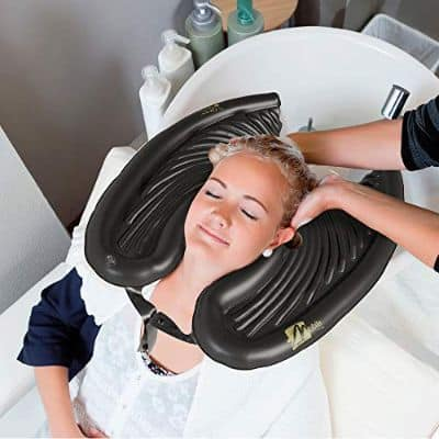 Mobile Salon- Shampoo Hair from Home with This Inflatable Hair Washing Shampoo Basin