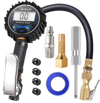 AstroAI ATG250 Digital Tire Inflator with Pressure Gauge