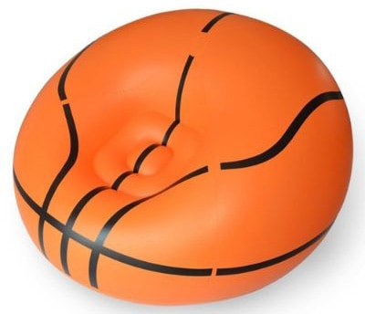 YueYueZou® Inflatable Basketball Bean Bag Chair:Lounger:Sofa