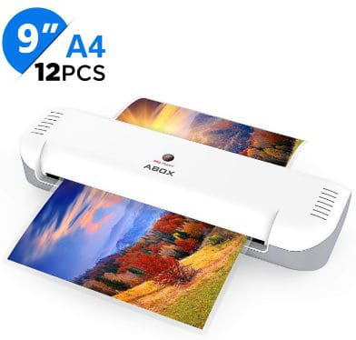 ABOX 9'' Thermal Laminator Machine for A4:A5:A7