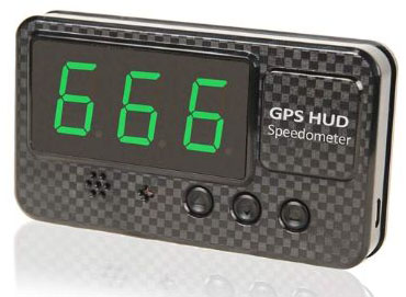COOLOUS C60S Universal HUD Heads UP Display Digital Speedometer