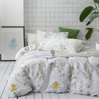 Wake In Cloud - Botanical Comforter Set
