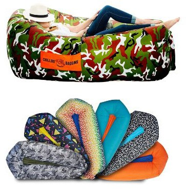 CHILLBO SHWAGGINS 2.0 Best Inflatable Lounger Portable Hammock Air Sofa