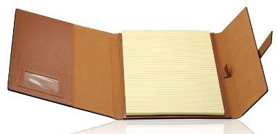 Gallaway Leather Padfolio Portfolio Folder