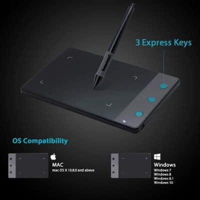 HUION H420 Osu Tablet Graphics Drawing Signature Pad