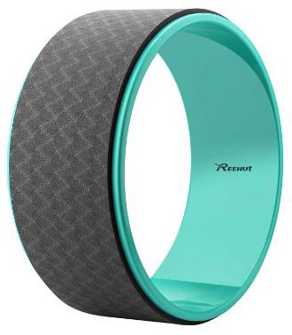 Reehut Yoga Wheel - 12.6 x 5 Strong Premium Back Roller and Stretcher