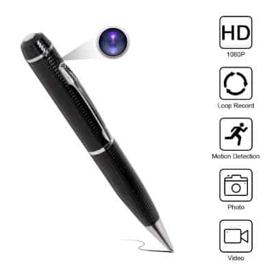 Yumfond Hidden Spy Pen Camera HD