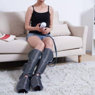 Konliking Air Compression Leg Massager for Foot Calf Massage