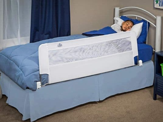 Regalo Swing Down 54-Inch Extra Long Bed Rail Guard