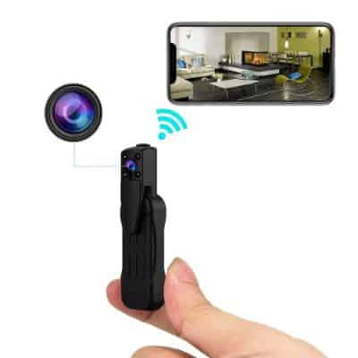 Spy Camera Wireless Hidden Camera 1080p WiFi Home Security Cameras Nanny Cam Pen