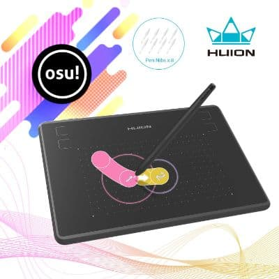 Huion Inspiroy H430P OSU Graphic Drawing Tablet